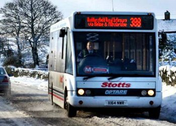 Low Floor Service Bus | Stotts Coaches
