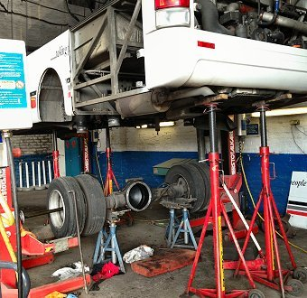 Vehicle Maintenance | Stotts Coaches
