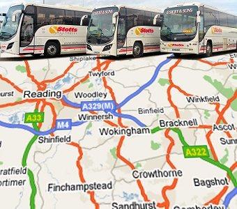 Vehicle Tracking | Stotts Coaches